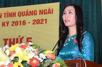 Quảng Ngãi lần đầu có nữ Phó bí thư Tỉnh ủy