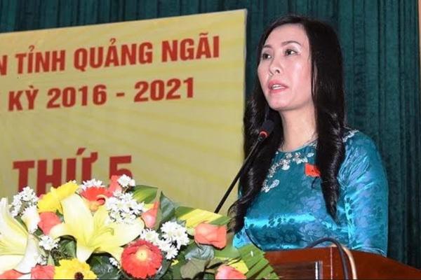 nữ phó bí thư,bí thư tỉnh ủy,bổ nhiệm,bỏ phiếu,nhân sự,Quảng Ngãi