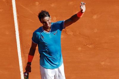 "Monte Carlo: Hạ ""tiểu Federer"", Nadal thẳng tiến tứ kết"