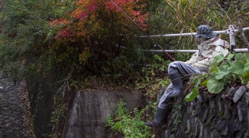 người nộm,ngôi làng Nhật,ngôi làng kỳ lạ,Nhật,làng búp bê