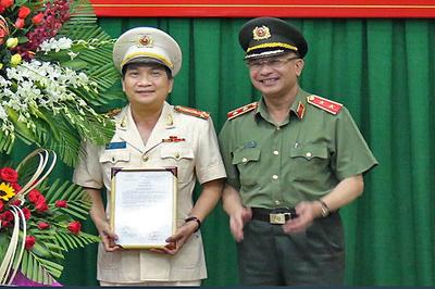 Đại tá Nguyễn Sỹ Quang làm Phó giám đốc Công an TP.HCM