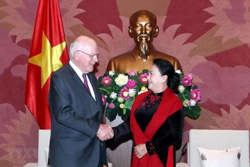 Vietnam's National Assembly Chairwoman affirms Vietnam's ties with US