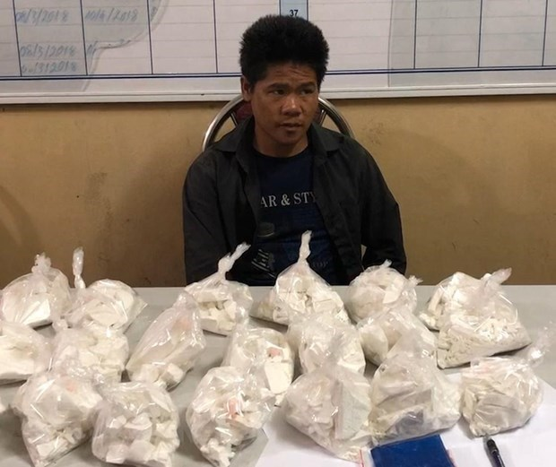 Drug trafficking suspects arrested in Son La, Hoa Binh