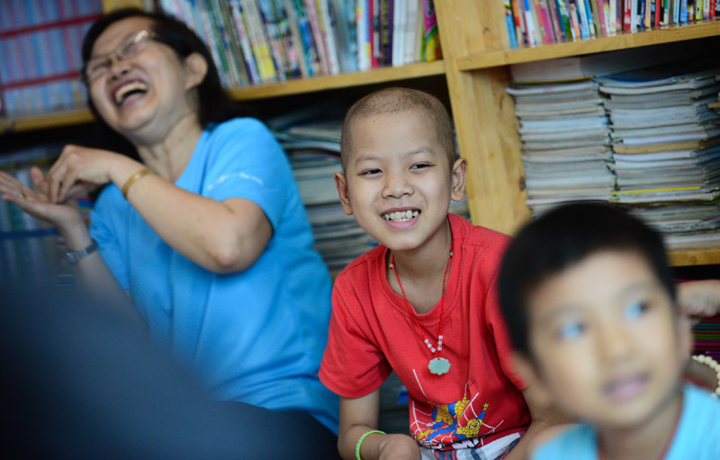 Cô Phấn của trẻ ung thư: 'Có những cuốn vở cả đời trò không viết hết'