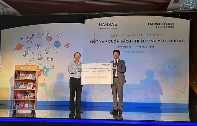 Korean fund presents books to children in Ho Chi Minh City