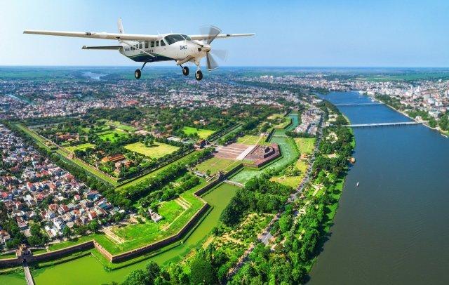 Hue - Da Nang seaplane flights on way