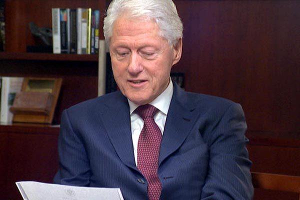 Bill Clinton,cựu tổng thống Mỹ,nhà báo Anh