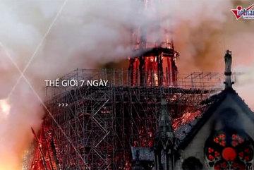 Thế giới 7 ngày: Nhà thờ Đức Bà Paris bốc cháy, cuộc 'săn phù thủy' thất bại