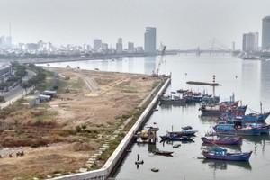 Dự án lấn sông Hàn nhìn từ góc quay flycam
