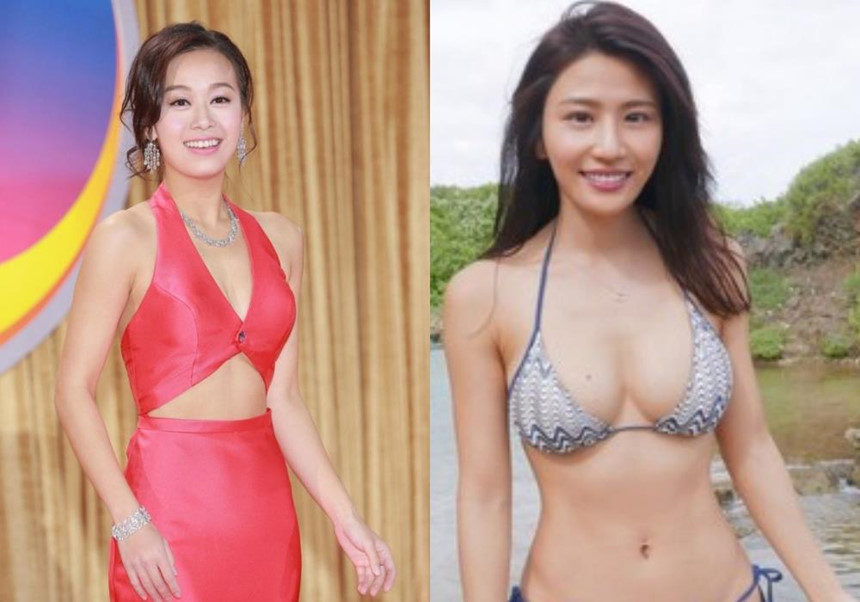 Lâm Thiên Dư - sao nữ TVB trắng tay vì clip mây mưa ở toilet công cộng