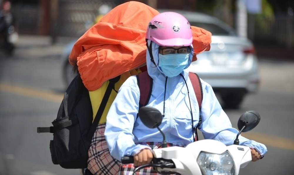 Heat wave hits three regions with temperature over 40C