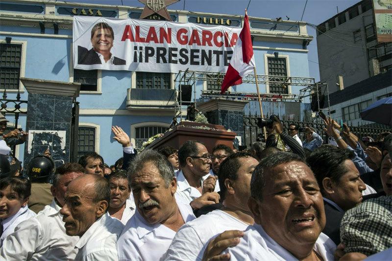 Peru,Alan Garcia,cựu tổng thống Peru,tự sát,thư tuyệt mệnh