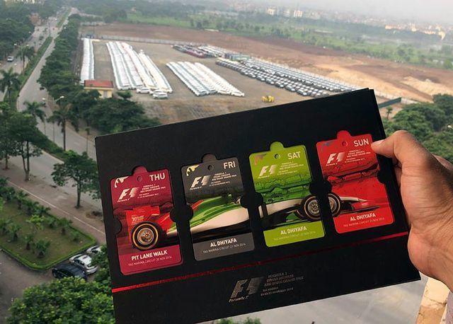 Vé xem đua xe F1 tại Hà Nội khởi điểm từ 1.750.000 đồng