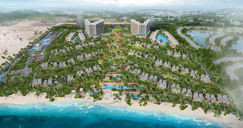 Khu nghỉ dưỡng ALMA- thiết kế tuyệt diệu từ tình yêu biển
