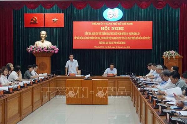Đoàn kiểm tra TƯ làm việc với TPHCM về thực hiện Nghị quyết số 33