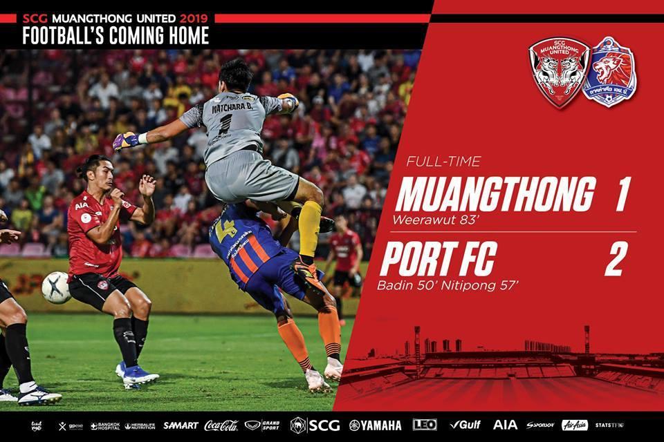 Lính HLV Park Hang Seo ra mắt, Muangthong vẫn chưa biết thắng