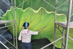 Mural paintings at airport wins int'l design award