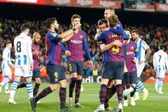 Messi kiến tạo, Barca tiệm cận ngôi vương