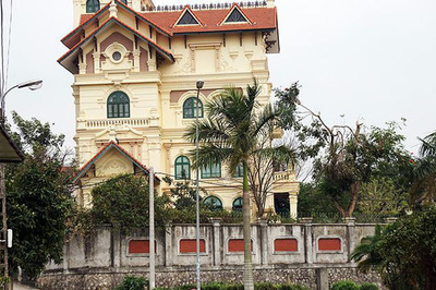 Cận cảnh biệt thự của cựu TGĐ Gang thép Thái Nguyên vừa bị bắt giam