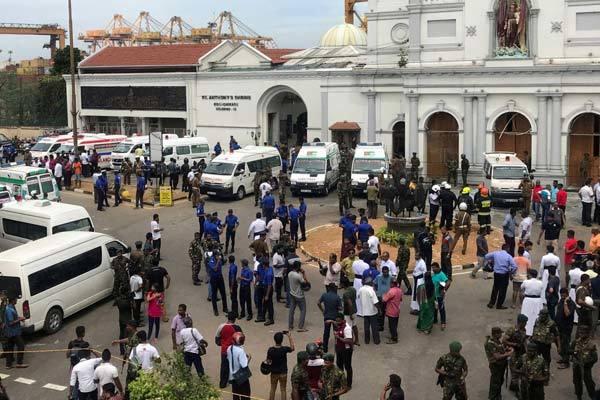 Hơn 40 người thiệt mạng trong các vụ nổ tại Sri Lanka