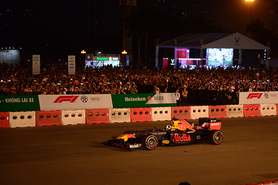 Khởi động Formula 1 Việt Nam Grand Prix