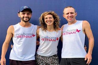 Three expat runners to join 300-kilometer relay to help Vietnamese newborns