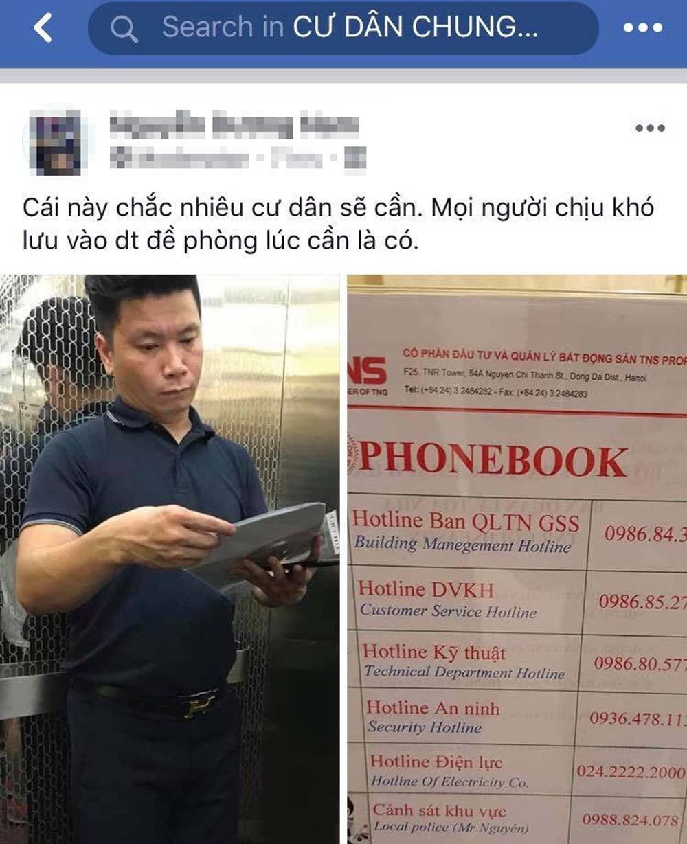 'Hùng sàm sỡ trong thang máy' bị dân chung cư Hà Nội họp khẩn