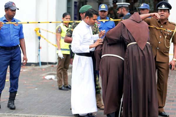 Sri Lanka,đánh bom,nổ,nhà thờ