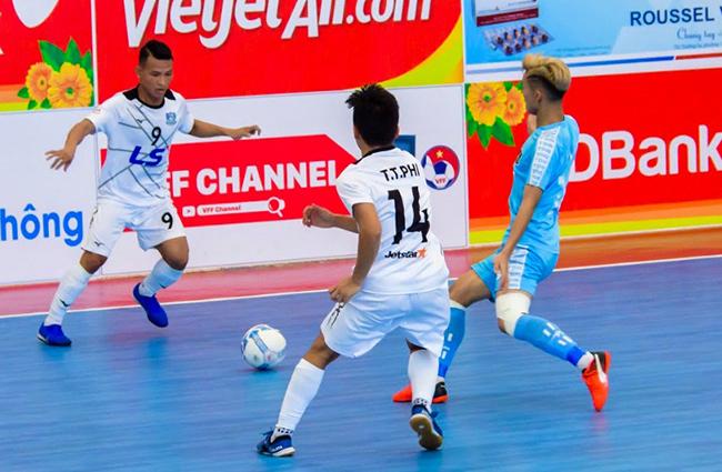 Giải futsal VĐQG 2019: ĐKVĐ bất ngờ hụt bước