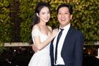 Nhã Phương cười hết cỡ trong lần đầu xuất hiện cùng Trường Giang sau đám cưới