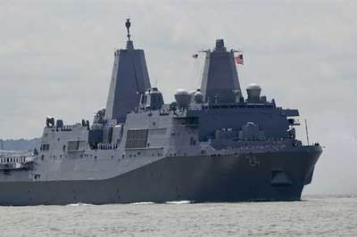 Phát hiện động trời trên tàu chiến Mỹ