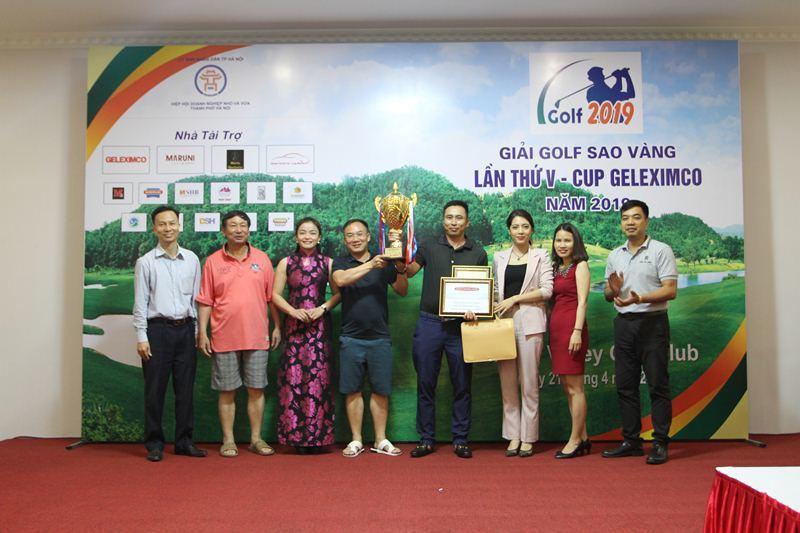 Golfer Lê Minh Hoàng vô địch giải Golf Sao vàng 2019