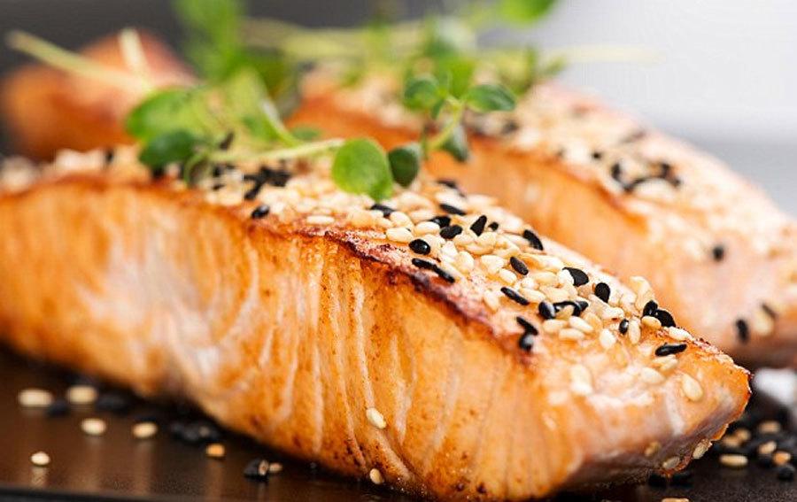 cá hồi,an toàn thực phẩm