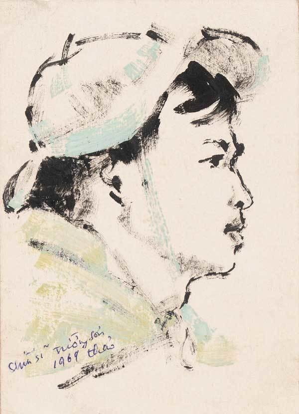 200 ký họa tuyệt đẹp tại Triển lãm 'Ký ức đường Trường Sơn'