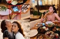 Kỳ Duyên đặt ảnh Minh Triệu làm hình nền điện thoại, cuộc tình hoa hậu - siêu mẫu đã không còn chỉ là lời đồn đoán?