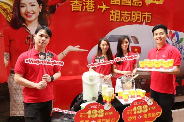 Vietjet rực rỡ đầy sức hút tại Hong Kong