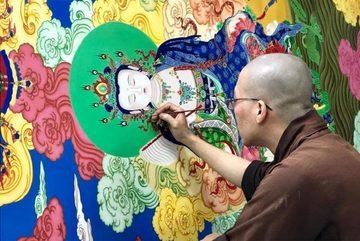 Triển lãm tranh Thiền lần đầu tổ chức tại Việt Nam