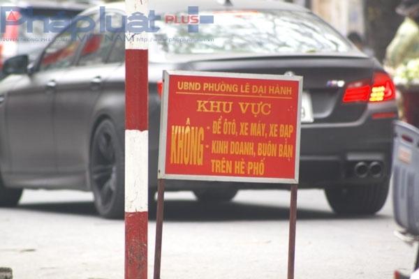 tư vấn pháp luật,đỗ xe,xử phạt,luật giao thông