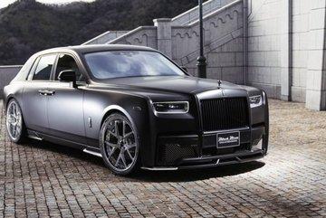 Chiêm ngưỡng xe sang Rolls-Royce Phantom độ bodykit hầm hố