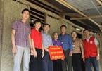 Gia đình anh Tòng Văn Kiên và bà Lò Thị Giót đã được tài trợ xây nhà