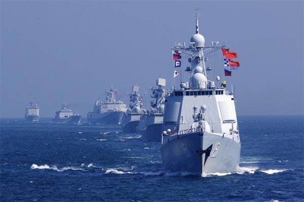 Trung Quốc,duyệt binh,tập trận,Việt Nam,hải quân,vũ khí