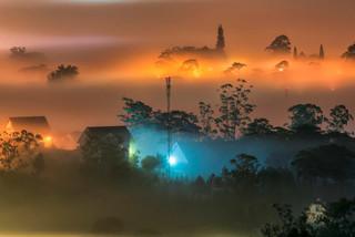 Exploring Da Lat amid fog in April