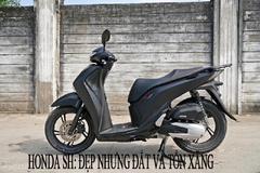 Honda SH: Đẹp nhưng đắt, 'ngốn xăng' và luôn 'đội giá' vài chục triệu