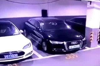 Xe điện tiền tỷ Tesla Model S đột ngột phát nổ tại Thượng Hải