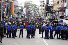 Nổ ở Sri Lanka: 6 vụ nổ đầu tiên là đánh bom liều chết