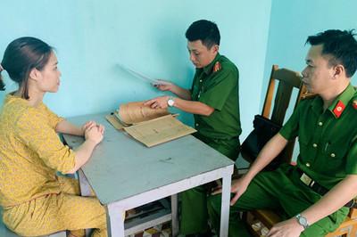 Công an Thanh Hóa bắt một phụ nữ mua bán người sang Trung Quốc