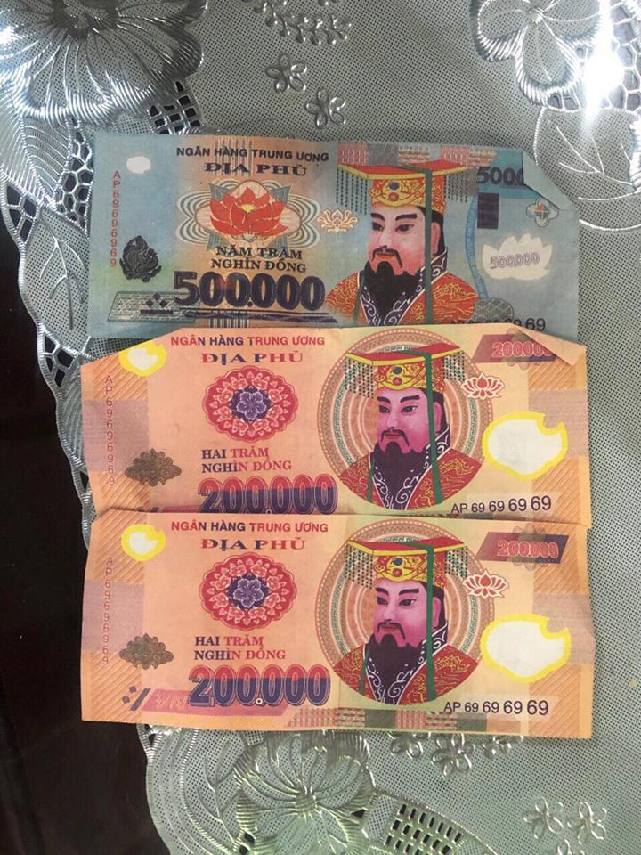 Khó tin: Tráo tiền âm phủ lấy hơn 7 tỷ trong két ngân hàng