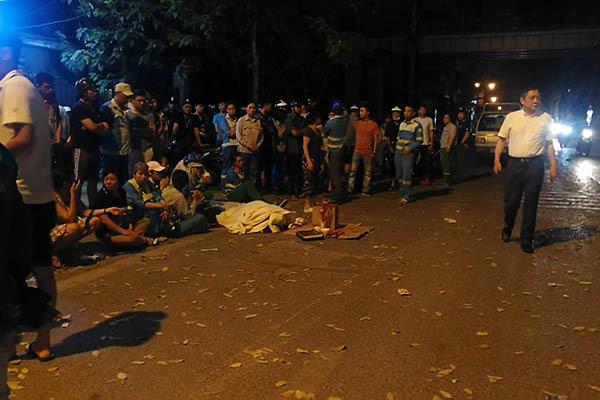 Tạm giữ tài xế tông loạn xạ làm chết nữ lao công ở Hà Nội