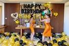 Kỳ Duyên mặc đồ đôi, kỳ công tổ chức sinh nhật cho Minh Triệu tại Bali