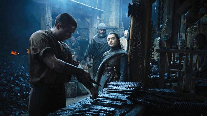 Sao trẻ nói về cảnh sex gây sốc của Arya Stark trong 'Game of Thrones'